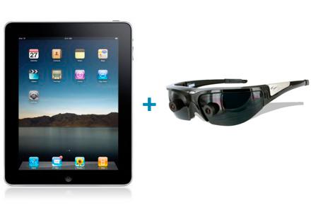 iPad+vuzix